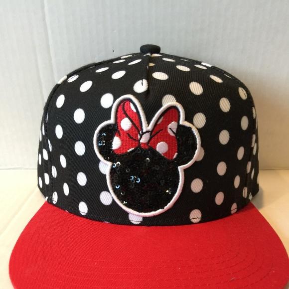82371e6139d Disney Minnie Mouse Black   White Polka Dot Women